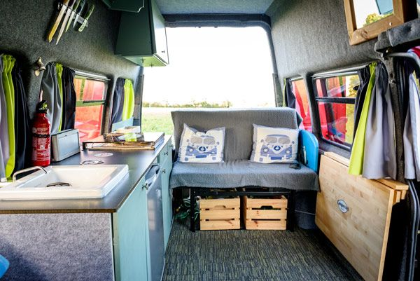 Diy campervan ford transit seats Campervan Pinterest