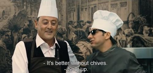 Watch a Trailer For French Restaurant Comedy The Chef: Heads, Stars Chef, Watches Videos, French Restaurant, Greek, Worth Watches, Foodies Stuff, A Comm, Une Chef