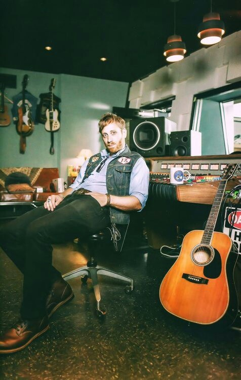 "Dan Auerbach of the Black Keys. Check out his solo album ""Keep it Hid."" Good stuff."