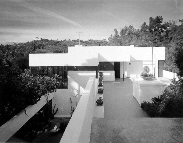 Richard Neutra Lovell House - exterior   Click the Pic to see more!