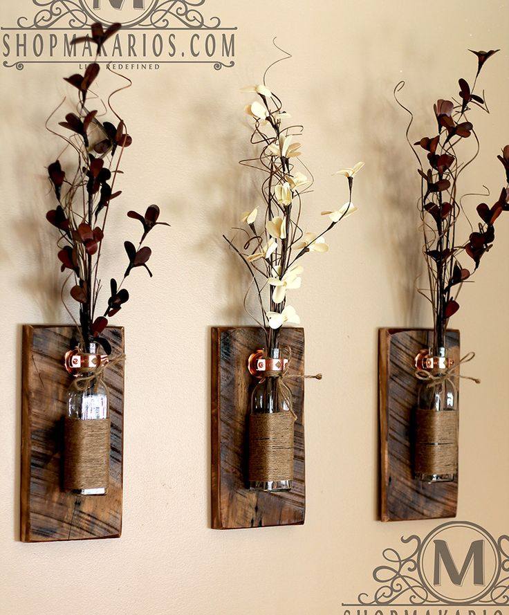 Decorative Wall Sconces For Flowers best 25+ wall vases ideas on pinterest | farmhouse wall mirrors