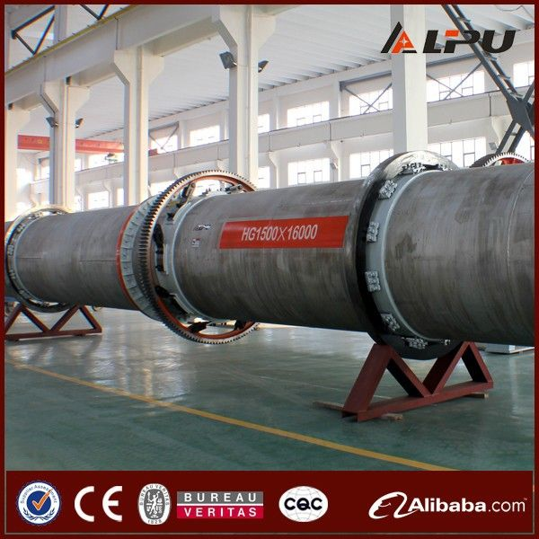 Industrial Dryer Sawdust Rotary Drum Dryer Machine Manufacture