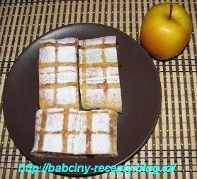 Závin z tvarohového těsta | Babčiny recepty