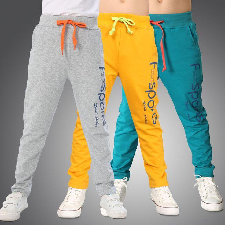 2016 новинка марка дети мальчиков письмо печать хлопковые брюки детские спортивные брюки свободного покроя одежда синий желтый серый брюки для мальчика трусы для мальчиков спортивные штаны #women, #men, #hats, #watches, #belts, #fashion
