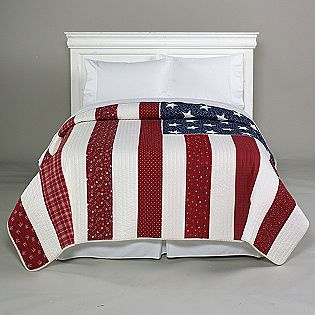 Stars & Stripes Americana Quilt- Country Living - Sears no longer carries it but I love the idea!