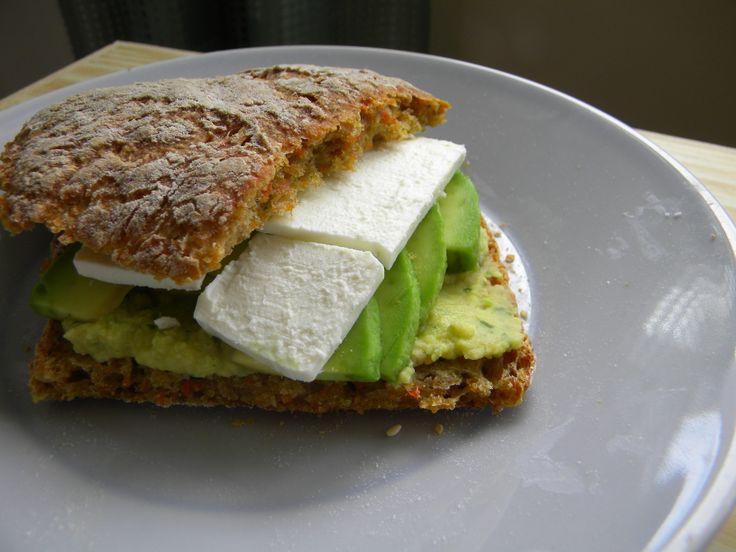 Avocado + Hummus + Feta