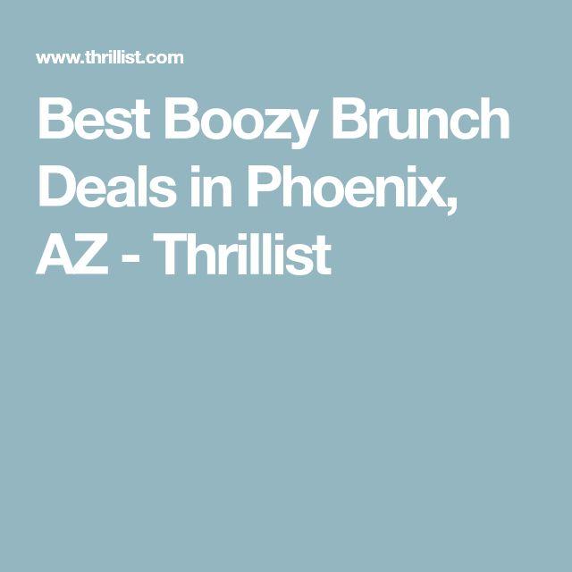 The Best Boozy Brunch In Every Phoenix Neighborhood