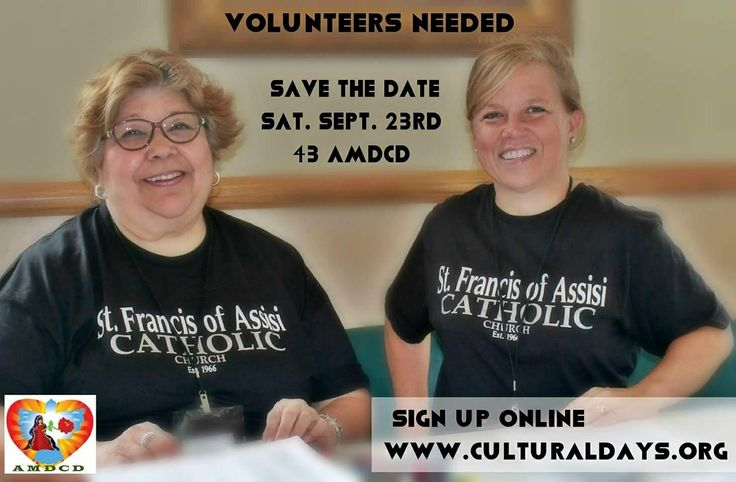 It is NOT too late to volunteer❣️❣️  Adults, High School and Middle School students volunteer and get your needed hours for school/confirmation. See Ann at the event or signup online at culturalday.org  🎉🌮🛍️🚘😍🏆  Julie, we miss you❣️❣️  #Frisco #Allen #Plano #McKinney #LittleElm