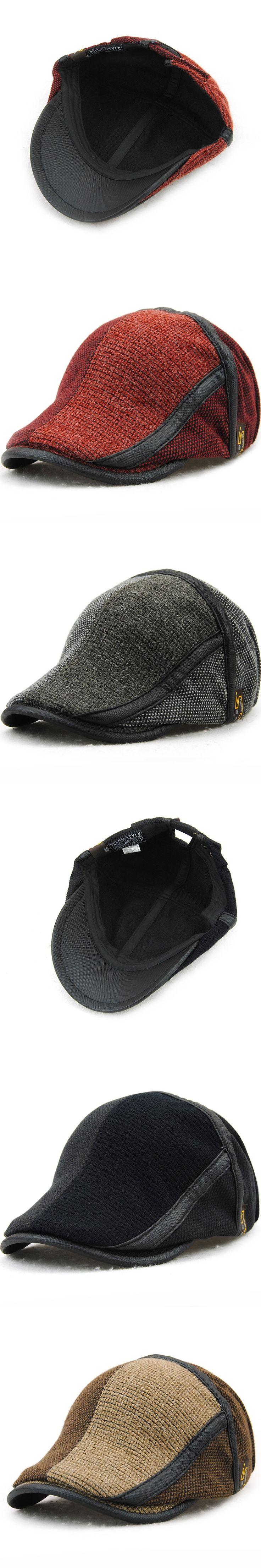 2017 retro berets caps for cotton hats but relaxed visors peaked cap gorras planas flat caps adjustable but 's berets boina bone