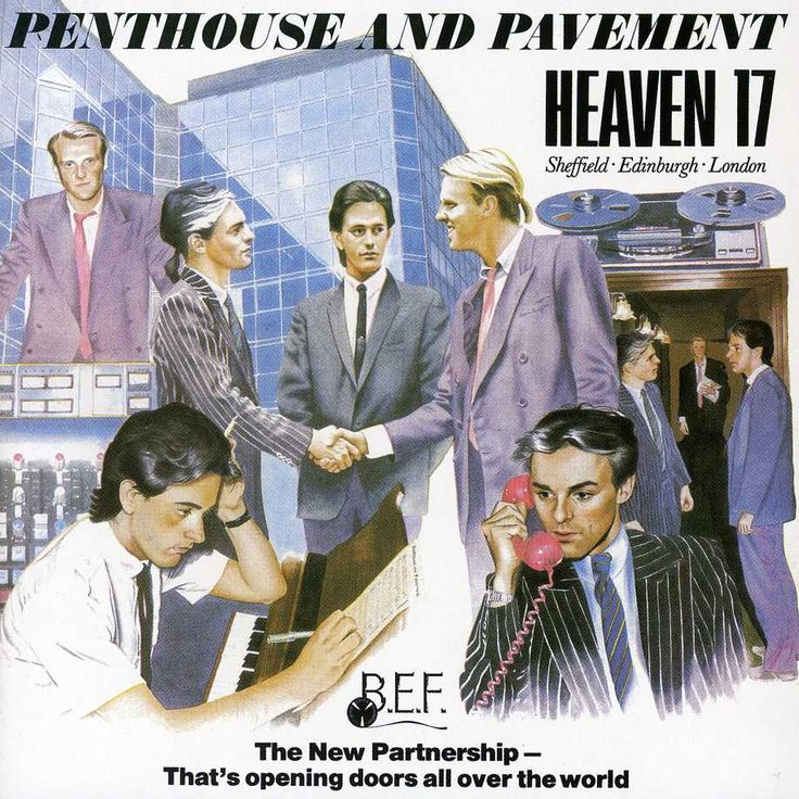 Heaven 17 - Penthouse and Pavement, Green