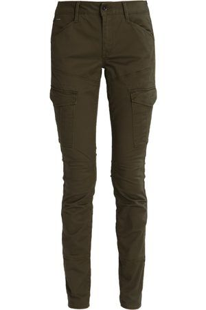 2a2f3024002d Women Cargo Trousers - G-Star GStar ROVIC MID SKINNY Cargo trousers forest  night   owaki   Pinterest   Trousers, Trouser jeans and Trouser pants