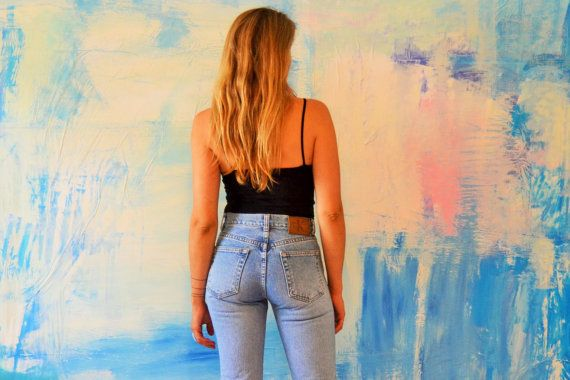 CALVIN KLEIN facile adattarsi Jeans donna / / Light Wash
