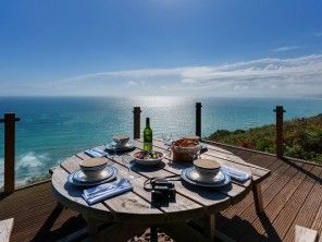 1 Bedroom Sea View Chalet in England, Cornwall, Whitsand Bay