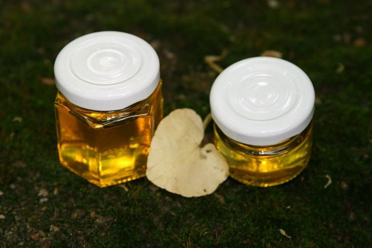 Little jars with honey