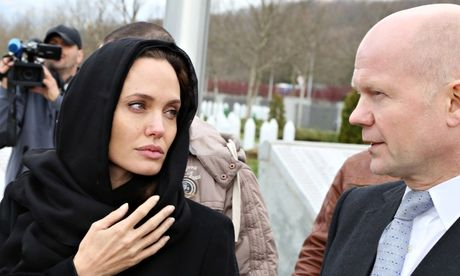 Angelina Jolie lauded by William Hague over war zone anti-rape campaign