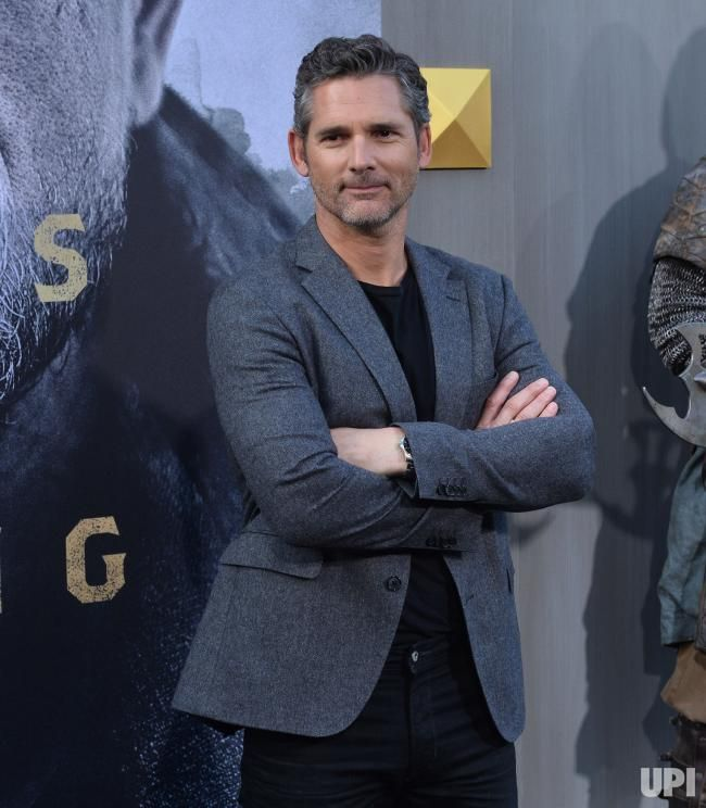"Cast member Eric Bana attends the premiere of the motion picture fantasy ""King Arthur: Legend of the Sword"" at TCL Chinese Theatre in the…"