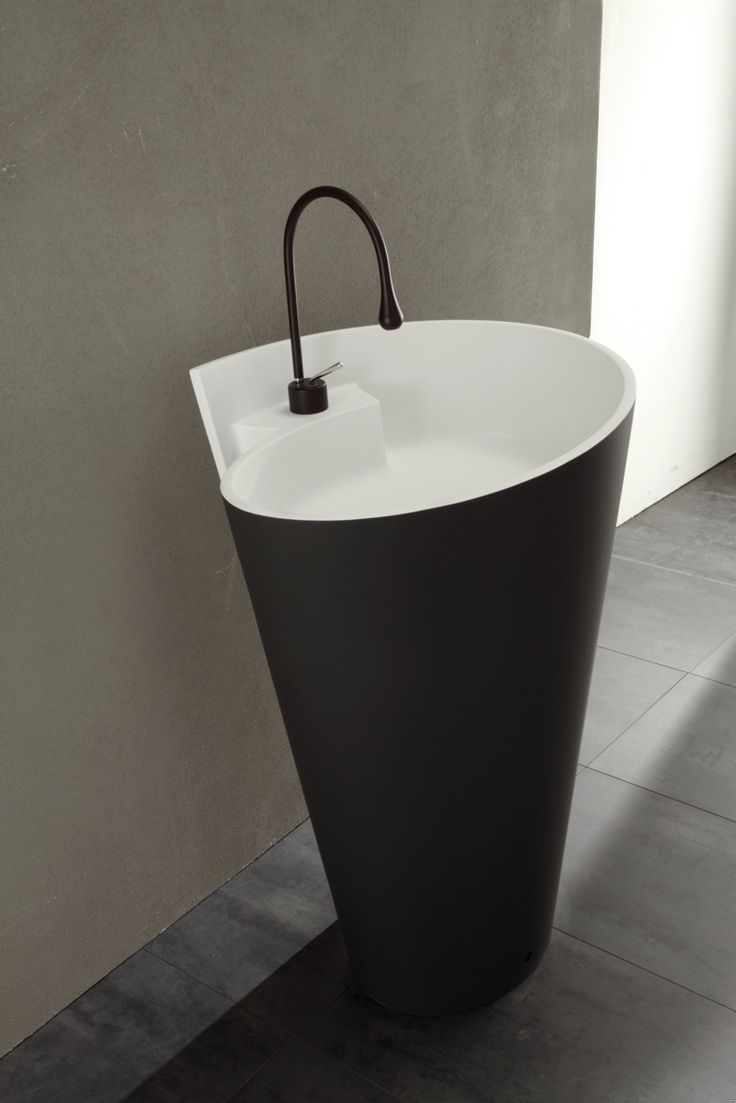 MastellaDesign KON bicolor freestanding #washbasin is available at Studio Anise and so are Gessi #faucets . #mastella #mastelladesign #studioanise #blackandwhite #bathroom #basin #luxurybathroom #modernbathroom #contemporarybathroom #designerbathroom #bathroomdesign #bathroominspiration #interiordesign #architecture #luxuryproduct #luxurydesign #moderndesign #bathroomideas #modernbathroomdesign
