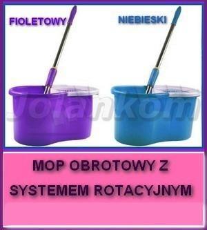 8b)MOP OBROTOWY Z SYSTEMEM ROTACYJNYM 3 KOLORY