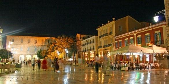 Nafplio, Greece. Evening strolls so precious