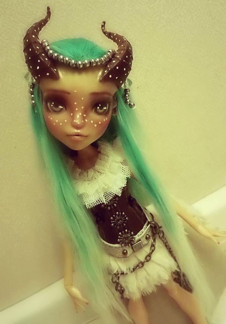 Monster High custom GILDA by AnastaziaCustom on DeviantArt