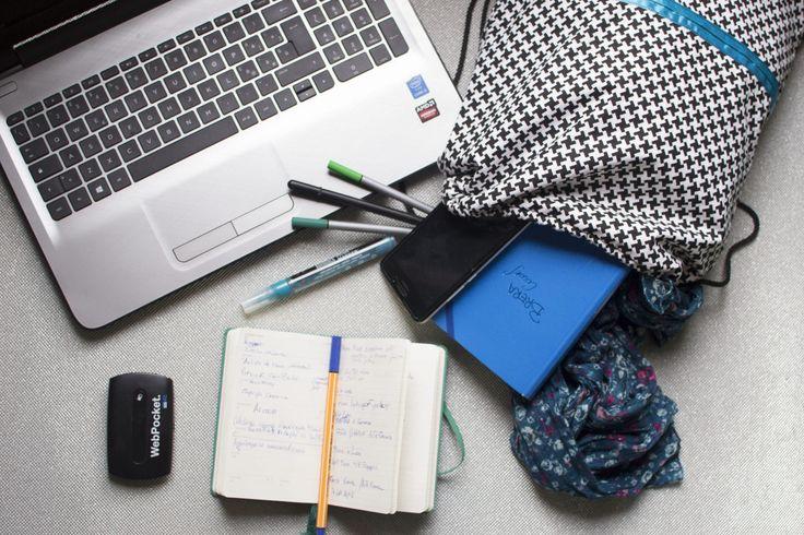drawstring bag, zaino di ZIAIA su Etsy