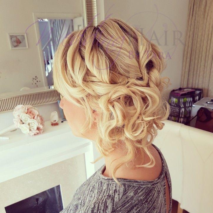 A gorgeous soft hair up,  created by Tara Johnston www.weddinghairbytara.co.uk #tarajohnston #bridalhair #hairideas #essexhairstylist #brides2017  #essexhairdresser #brides2018 #leighonsea #glamhair #hair #curls