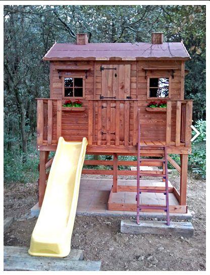 Casita infantil super caserio fotos de clientes for Casitas de patio para almacenar