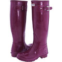I like purple...especially on rainboots!