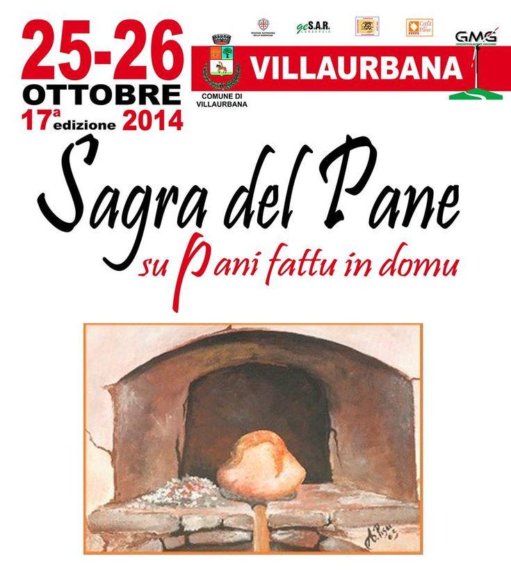17° EDIZIONE SAGRA DEL PANE – VILLAURBANA – 25-26 OTTOBRE 2014