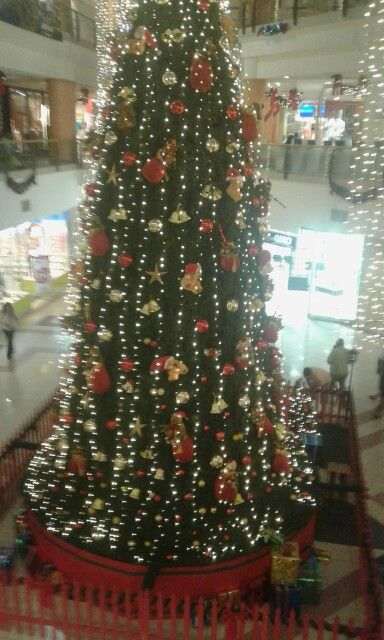 Ambiente navideño mall valdivia!!