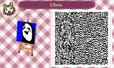 Uboa from Yume Nikki