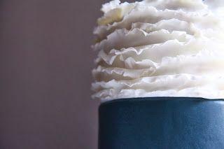 ruffle cake, model chocolate cake, cioccolato plastico, torta decorata con cioccolato plastico
