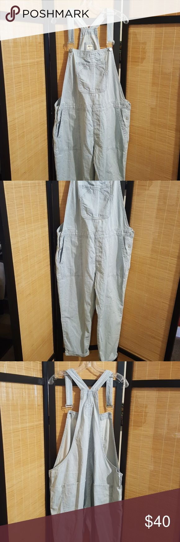 GAP PAINTERS OVERALLS Stylish denim overalls rare find new without tags,xl no trades will except reasonable offers only GAP Pants Jumpsuits & Rompers