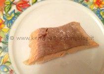 Filetti di salmone cotti al vapore
