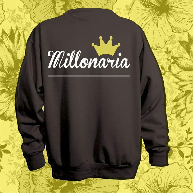 Millonaria sweatshirt in sale.