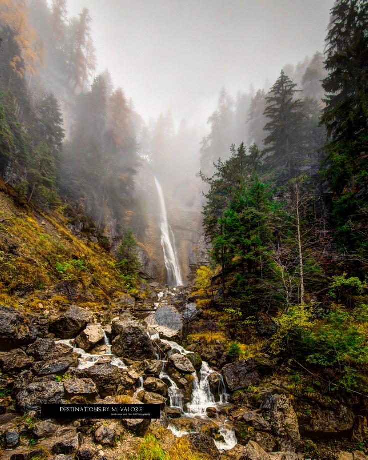 Shrouded Waterfall, Borca di Cadore, Italy