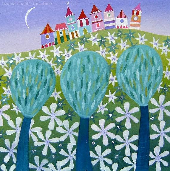 A field of stars - www.tizianarinaldi.it