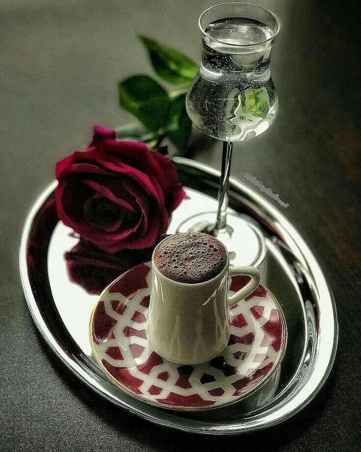 доброе утро кофе и розы фото фото
