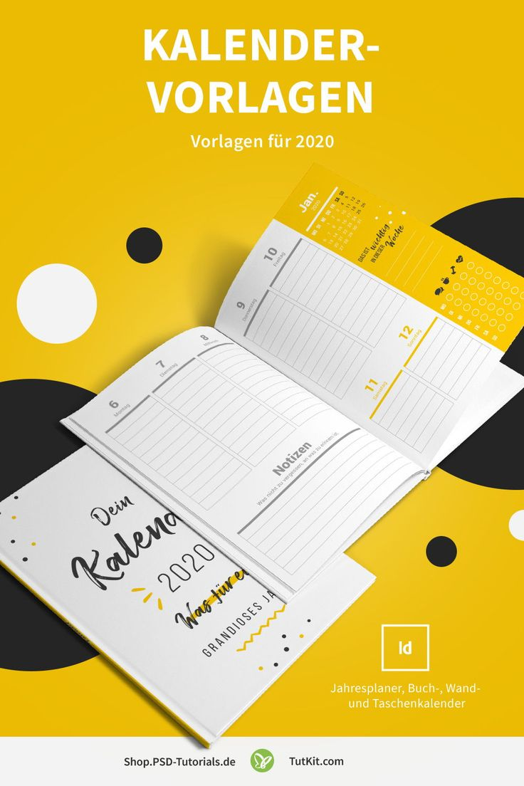 Kalender-Vorlagen 2020, 2021, 2022 und 2023: Jahresplaner ...