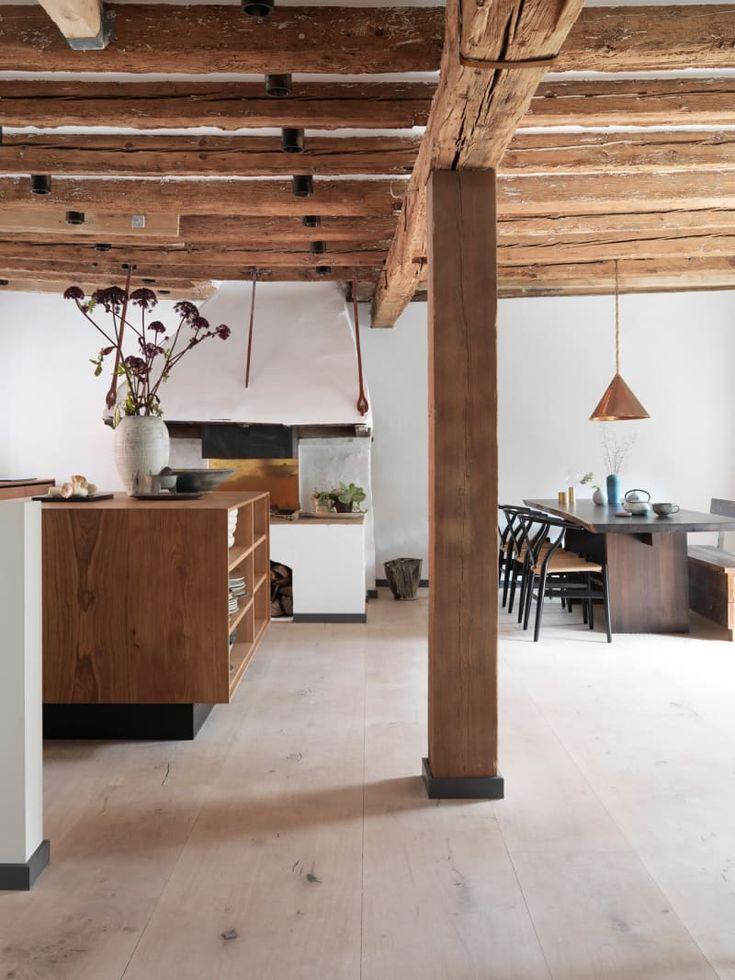 #Esszimmer #offen #Küche #Grundriss #Holz #