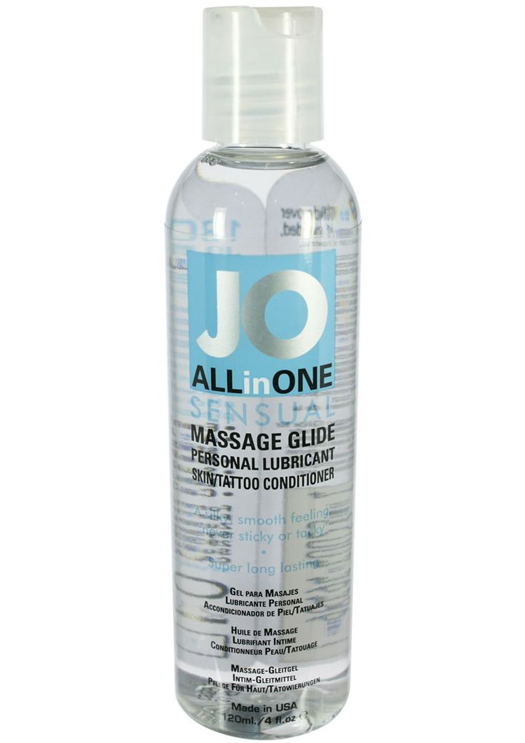 Jo Sensual Massage Glide All In One 4 Ounce