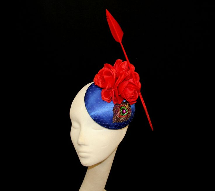 Cannot wait to receive this piece - red/blue and feather