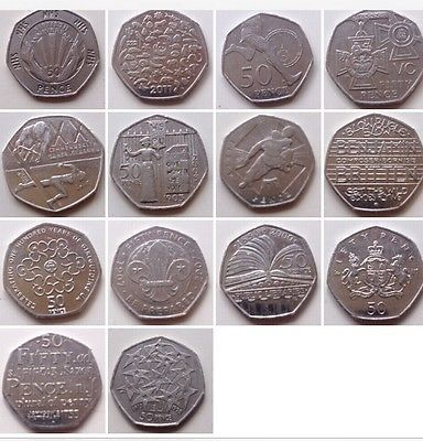 Rare 50p #various #collectable 50 pence #circulated coin hunt,  View more on the LINK: 	http://www.zeppy.io/product/gb/2/152111811467/