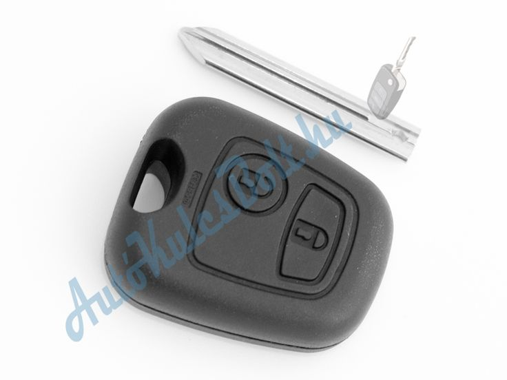 Citroen két (2) gombos kulcsház. Elem, elektronika és immobiliser chip nélkül. Logót, márkajelzést nem tartalmaz.  http://autokulcsbolt.hu/citroen-kulcshazak/citroen-ketgombos-kulcshaz