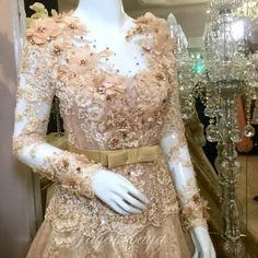 Amazing wedding dress kebaya modern 2016.