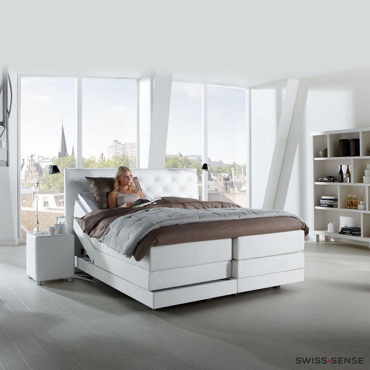 Witte slaapkamers   Inspiratie voor een frisse en ruimtelijke slaapkamer   SwissSense.nl