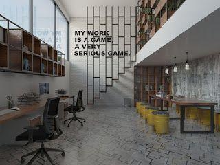 RUANG KECIL: Industrial Workspace