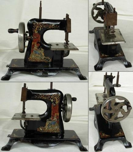 78 images about childs sewing machines vintage on for Machine a coudre king jouet