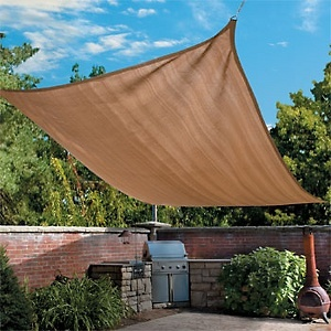 #HSN   #HouseBeautiful  Improvements Shade Sail - 18'
