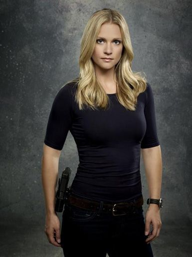 AJ Cook from Criminal Minds. Glad she's back this season.